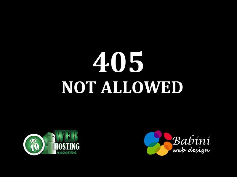 405-NOT-ALLOWED
