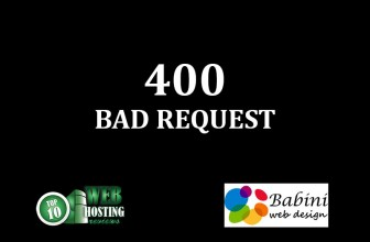 400 BAD REQUEST ERROR