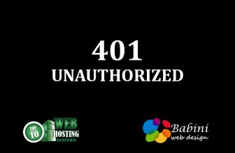 401 Unouthorised